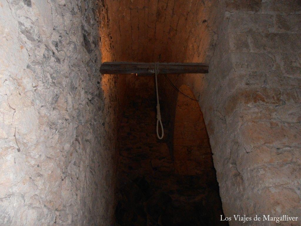 Soga de la prisión del castillo de Chillon- Los viajes de Margalliver
